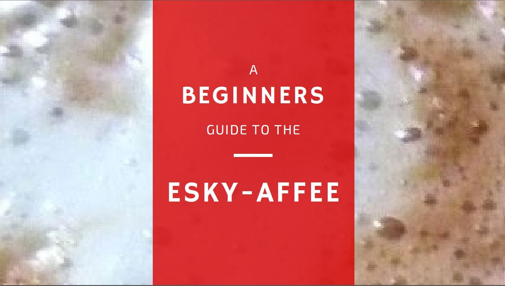 Esky-Affee. An Aussie take on a popular German coffee.